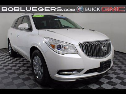 Certified 2017 Buick Enclave FWD Leather - 558189896