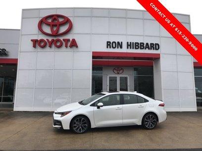 Certified 2020 Toyota Corolla XSE Sedan - 542585346