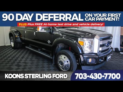 Used 2015 Ford F450 Platinum - 548718457