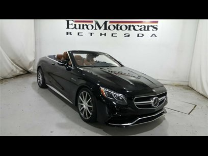 Used 2017 Mercedes-Benz S 63 AMG 4MATIC Cabriolet - 529902310