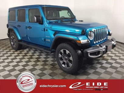 Used 2020 Jeep Wrangler Unlimited Sahara - 537658952