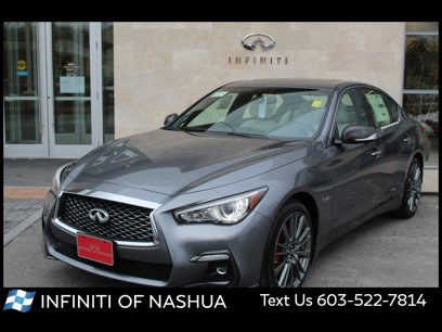 New 2020 INFINITI Q50 Red Sport 400 AWD - 547809343