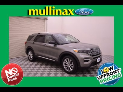 New 2020 Ford Explorer 2WD Limited - 523503955