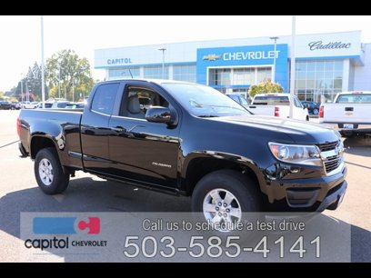 New 2020 Chevrolet Colorado 2WD Extended Cab W/T - 529666714