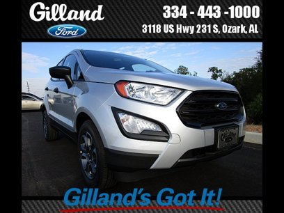 New 2020 Ford EcoSport FWD S - 532368994