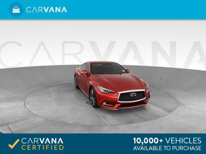 Used 2017 INFINITI Q60 Red Sport 400 Coupe - 544196141