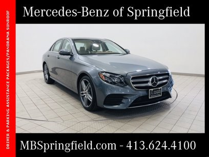 Used 2020 Mercedes-Benz E 350 4MATIC Sedan - 542445270