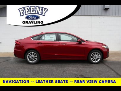 New 2020 Ford Fusion SE - 524746862