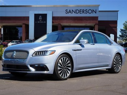 New 2019 Lincoln Continental AWD Black Label - 520648638