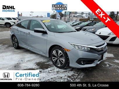 Certified 2017 Honda Civic EX-T Sedan - 542388471