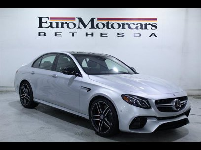 New 2020 Mercedes-Benz E 63 AMG S 4MATIC Sedan - 534434445