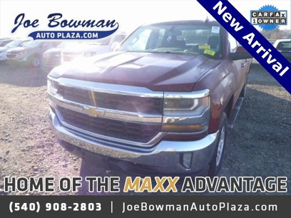 Used 2017 Chevrolet Silverado 1500 4x4 Double Cab LT - 569401960