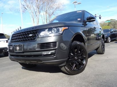 Certified 2017 Land Rover Range Rover HSE - 546281419