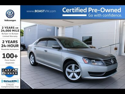 Certified 2013 Volkswagen Passat 2.5 SE - 536362488