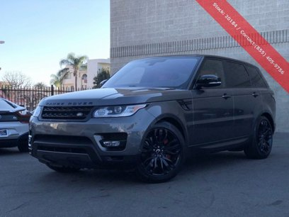 Used 2016 Land Rover Range Rover Sport Supercharged - 543409866