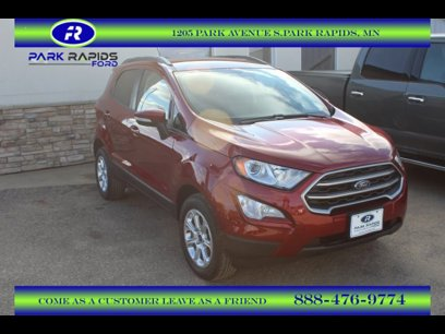 New 2020 Ford EcoSport 4WD SE - 533529427