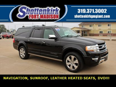 Used 2015 Ford Expedition EL Platinum - 605559759
