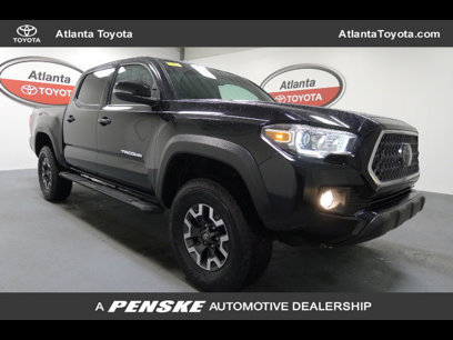Certified 2018 Toyota Tacoma 4x4 Double Cab TRD Off-Road - 542410030