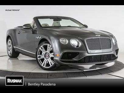 Used 2017 Bentley Continental GT V8 Convertible - 541941253
