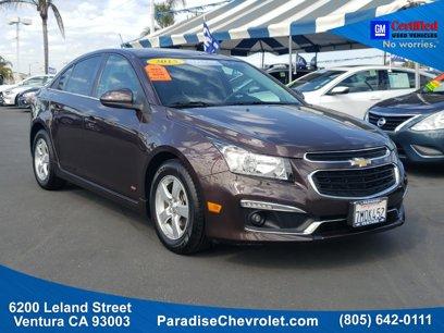 Certified 2015 Chevrolet Cruze LT - 543621181