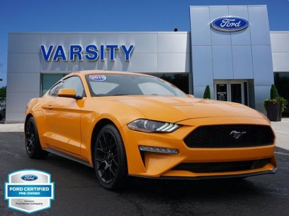 Certified 2019 Ford Mustang Coupe - 540952927