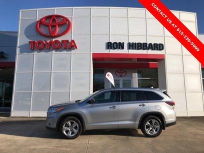 Certified 2016 Toyota Highlander Limited - 545872331