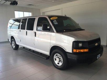 Certified 2014 Chevrolet Express 3500 LS Extended Passenger - 528630044