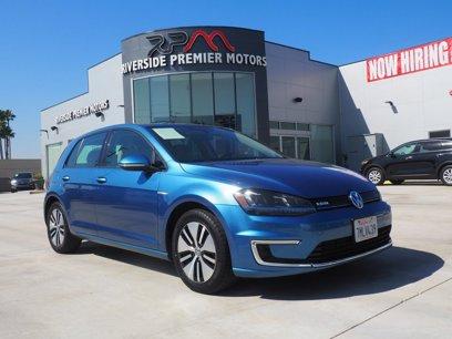 Used 2015 Volkswagen e-Golf SEL Premium - 563677689
