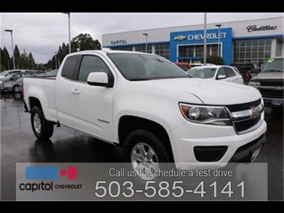 New 2020 Chevrolet Colorado 2WD Extended Cab W/T - 529666719