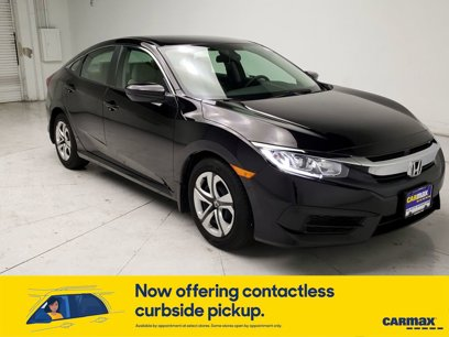 Used 2018 Honda Civic LX Sedan - 567587124