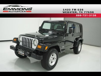 Jeep Wrangler For Sale Houston Under 5 000