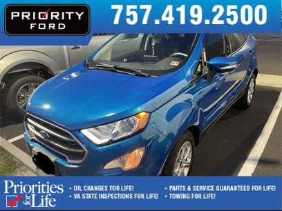 Used 2019 Ford EcoSport FWD SE - 570279985