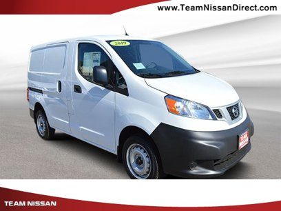 New 2020 Nissan NV200 S - 536940254