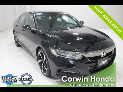 Certified 2018 Honda Accord 1.5T Sport - 541274341