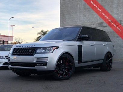 Used 2016 Land Rover Range Rover Supercharged - 544043605