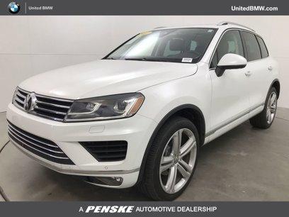 Used 2017 Volkswagen Touareg Executive - 567312694