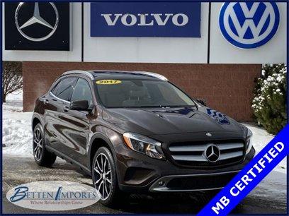 Certified 2017 Mercedes-Benz GLA 250 4MATIC - 542844410