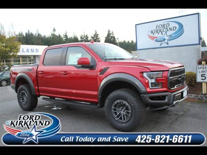 New 2020 Ford F150 4x4 Crew Cab Raptor - 532708434