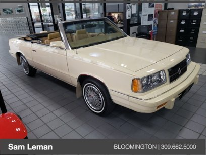 Used 1986 Dodge 600 Convertible - 561375899