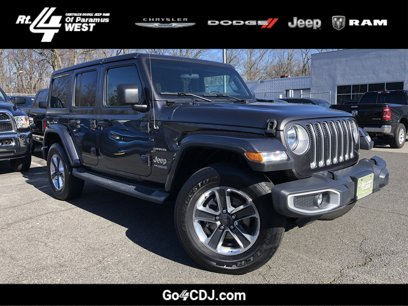 Certified 2019 Jeep Wrangler 4WD Unlimited Sahara - 544427307