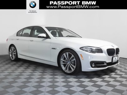 Certified 2016 BMW 528i xDrive Sedan - 545346442