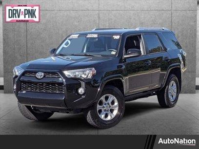Used 2018 Toyota 4Runner SR5 - 607993938