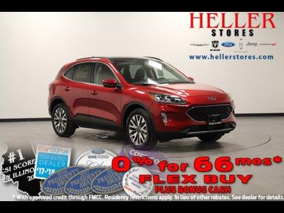 New 2020 Ford Escape 4WD Titanium - 539144411