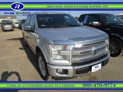Used 2017 Ford F150 SuperCrew Platinum - 521919186