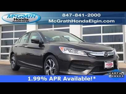Certified 2017 Honda Accord LX Sedan - 542511595