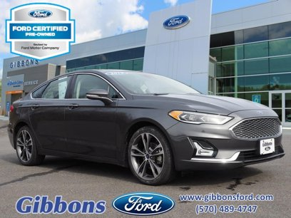 Certified 2019 Ford Fusion Titanium AWD - 542962016