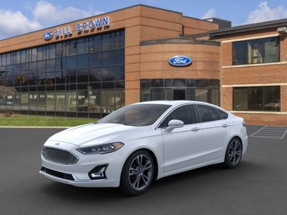 New 2020 Ford Fusion Titanium AWD - 536600120
