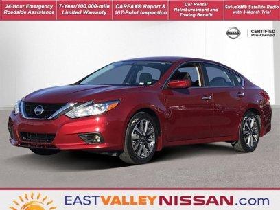 Certified 2017 Nissan Altima 2.5 SV Sedan - 539773088