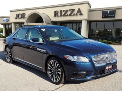 Certified 2017 Lincoln Continental AWD Select - 536567412