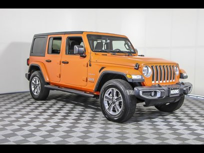 Certified 2018 Jeep Wrangler Unlimited Sahara - 548856783